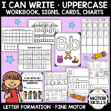 I Can Write - Uppercase Letters Workbook, Signs, Cards, Ch