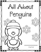 I Can Write a Book! (All About Penguins) Book Template