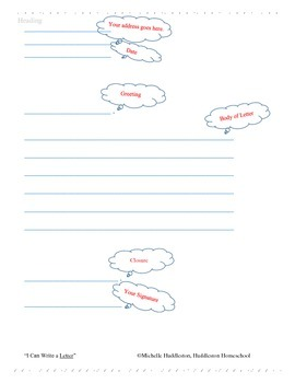 I Can Write a Letter