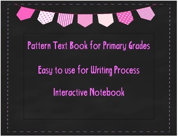 I Can Write a Pattern Text Book