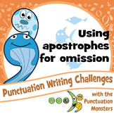 Punctuation Writing Challenges: Apostrophes for Omission