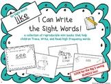 """I Can Write the Sight Word LIKE"" Mini Book"