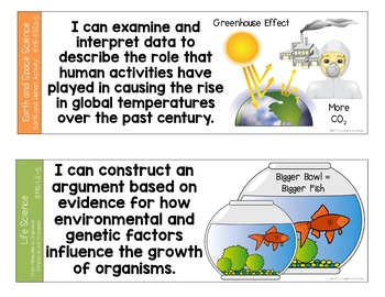 I Can and We Can Massachusetts Earth Science Standards Posters for Grades 6-8
