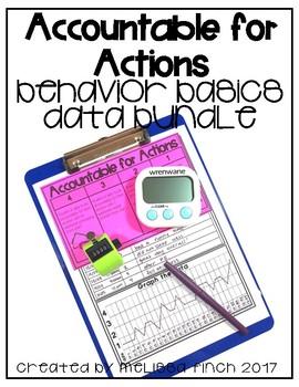 I Can be Accountable for Myself- Behavior Basics Data