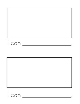 Sight Word Emergent Reader: I Can (can)