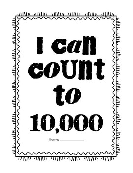 I Can count to 10,000