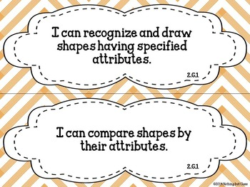 I Can statements for Math Common Core Grade 2