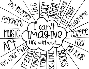 I Can't Imagine Life Without...