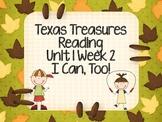 I Can,Too! Reading Activities - Texas Treasure