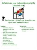 I Can/Yo Puedo Mini Literacy Station Posters - Spanish