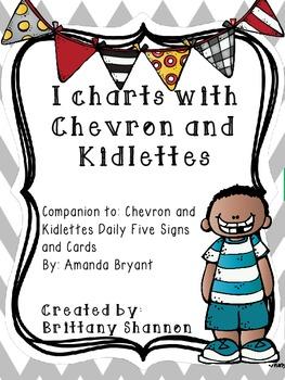 I Charts- Chevron and Kidlettes