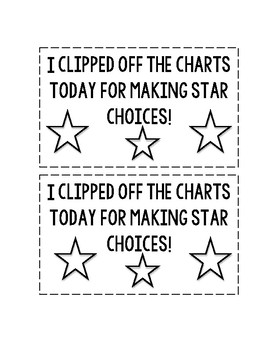 I Clipped off the Charts Certificate