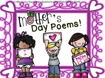 {I Come From...}  Mother's Day Poems!