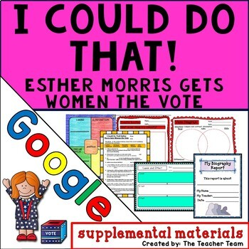 I Could Do That! Journeys 4th Grade Unit 5 Google Drive Resource