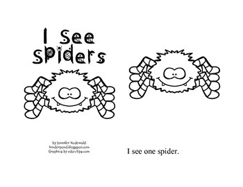 I Count Spiders: Student Reading Book Set (3 books)