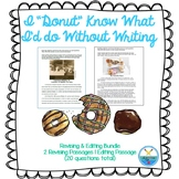 """I """"DONUT"""" KNOW WHAT I'D DO WITHOUT WRITING BUNDLE"""