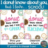 I DONUT know about you, but I love... SCHOOL!