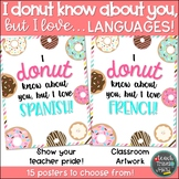 I DONUT know about you, but I love... LANGUAGES!