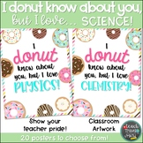 I DONUT know about you, but I love... SCIENCE!