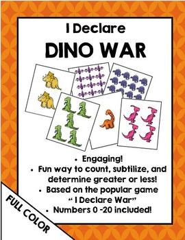 I Declare Dino War (Full Color)