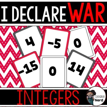 I Declare Integer War! A card game to compare integers