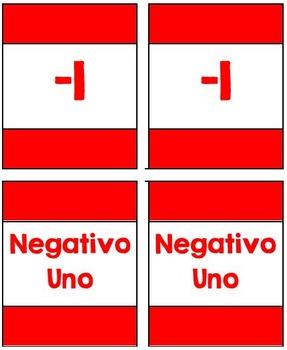 I Declare Integer War! (Integers) (SPANISH!)
