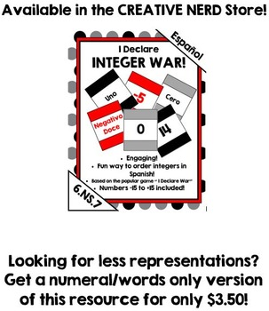 I Declare Integer War! Compare integers in different forms! (Spanish)