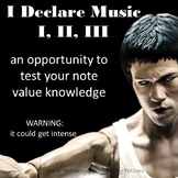 I Declare Music I, II, & III Game