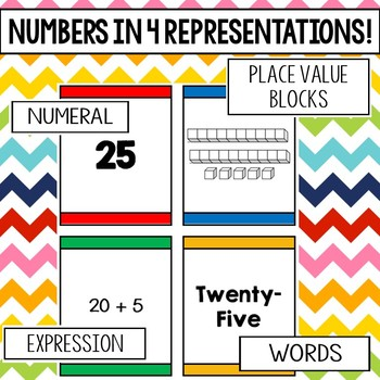 I Declare War! (Primary) Place value card game for numbers 1 - 30!