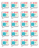 I Did Hour of Code stickers