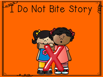 I Do Not Bite Social Story