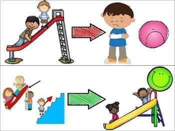 I Do Not Climb Up the Slide Social Story