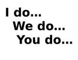 I Do, We Do, You Do Poster