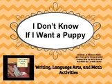I Don't Know If I Want a Puppy Curriculum Packet