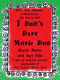 I Don't Dare Music Duo (for Christmas from The Little Match Girl)