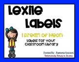 I Dream of Neon Classroom Library/Book Bins Lexile Level Labels