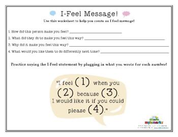 I-FEEL MESSAGE