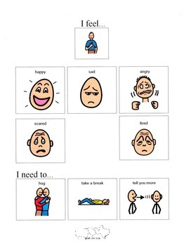 """I Feel.."" Bilingual Poster Packet"