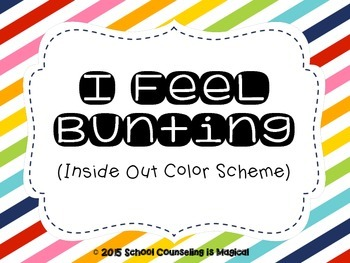 I Feel Bunting (Inside Out Color Scheme)