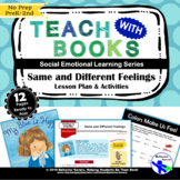 Same and Different Feelings – My Blue is Happy – PreK-2 No Prep Lesson & Activit