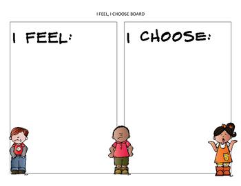 I Feel I Choose Board