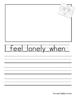 I Feel Lonely When...