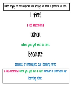 I Feel, When, Because Poster