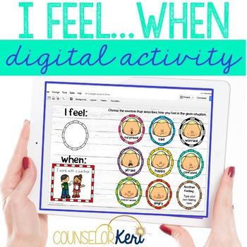 I Feel/When Feeling Labeling Digital Activity for Elementary School Counseling