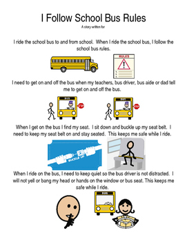 I Follow School Bus Rules
