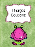 I Forgot Coupons