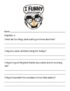 I Funny - School of Laughs Packet