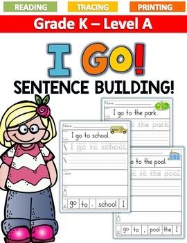 I GO! Sentence Building LEVEL A