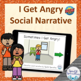 I Get Angry Safety Social Narrative BOOM Cards™ digital ad