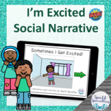 I Get Excited Interactive Social Narrative BOOM Cards™ dig